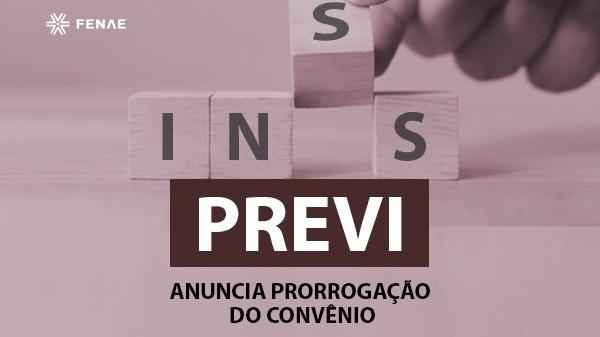 Previ anuncia prorrogação do convênio com o INSS