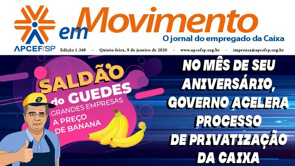 Confira a edição n. 1.348 do jornal APCEF em Movimento