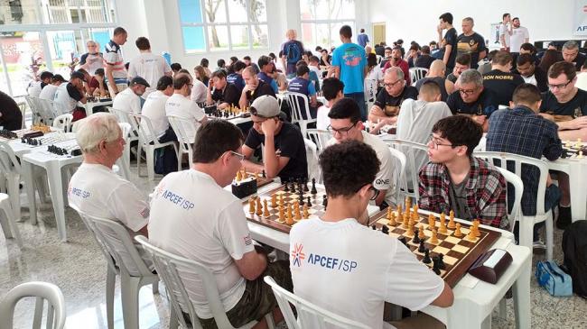 Clube de xadrez da APCEF/SP tem espaço reservado em Interlagos
