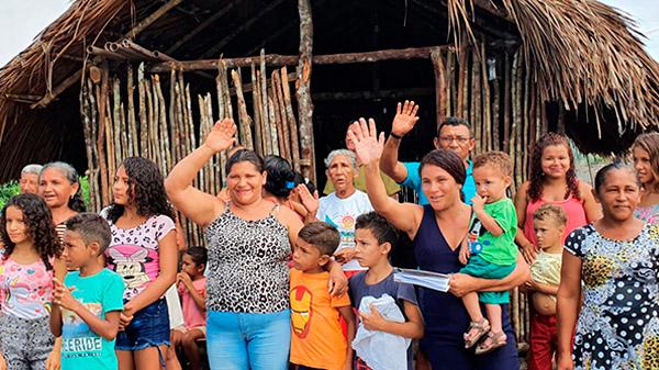 Comunidades abraçam dois novos projetos inaugurados em Belágua