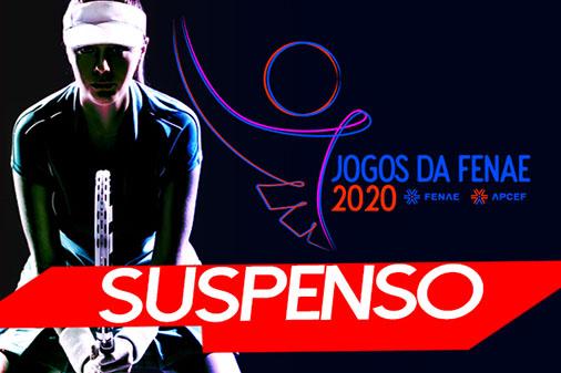 1ª fase dos Jogos da Fenae 2020 está suspensa