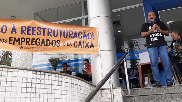 Fenae e centrais sindicais intensificam mobilizações contra reestruturação e privatizações
