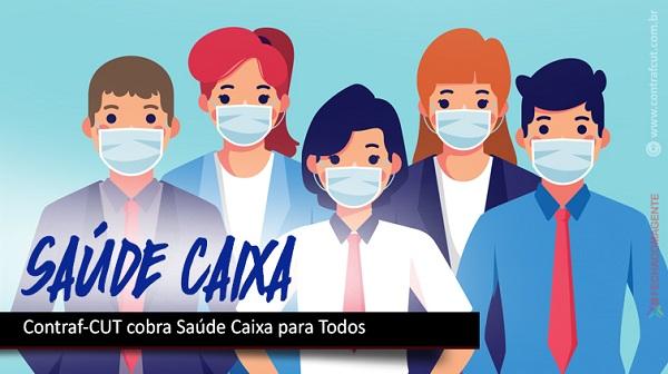 Contraf-CUT prioriza saúde em debate com direção da Caixa