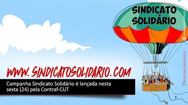Campanha Sindicato Solidário é lançada pela Contraf-CUT