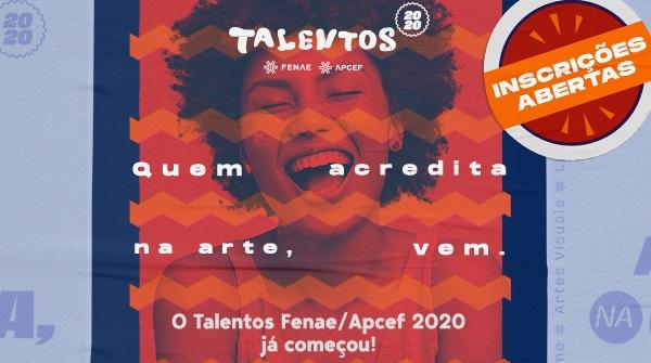 Já estão abertas as inscrições para o Talentos Fenae/APCEF