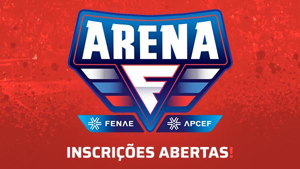 Começaram as inscrições para os torneios do Arena Fenae