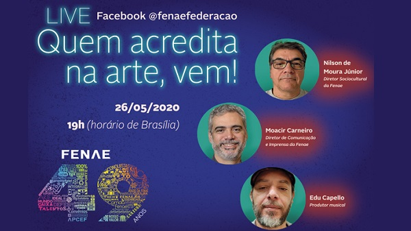 Assista transmissão ao vivo sobre o Talentos Fenae/APCEF