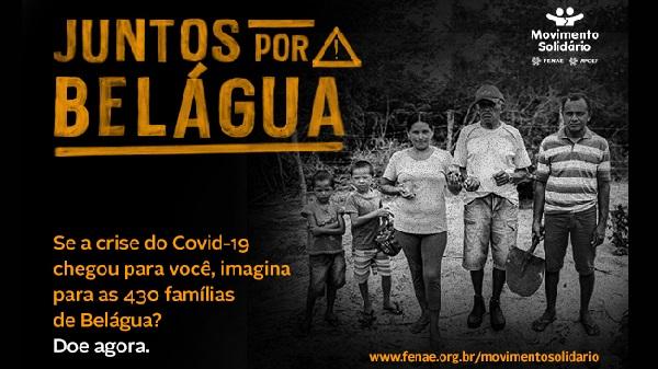 Belágua precisa da sua solidariedade