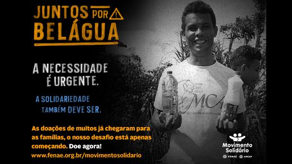 Ação emergencial de doações reforça solidariedade à Belágua