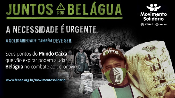 Movimento Solidário incentiva doações de pontos a expirar