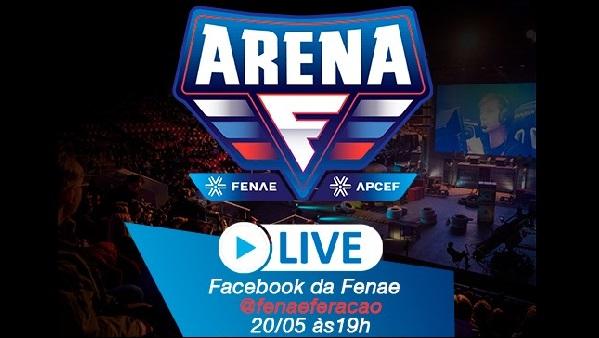 Arena Fenae: assista à live e saibamais sobre essa novidade