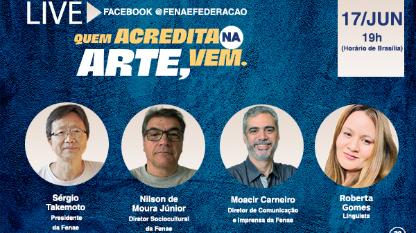 Debate sobre literatura encerra série de lives especiais do Talentos 2020