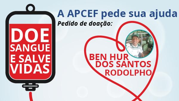 Empregado da Caixa precisa de doação de sangue. Faça uma boa ação, salve vidas!