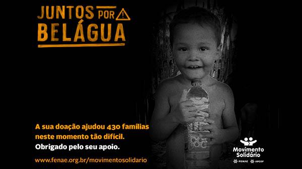 Campanha emergencial do Movimento Solidário atinge metas de distribuição de cestas básicas em Belágua