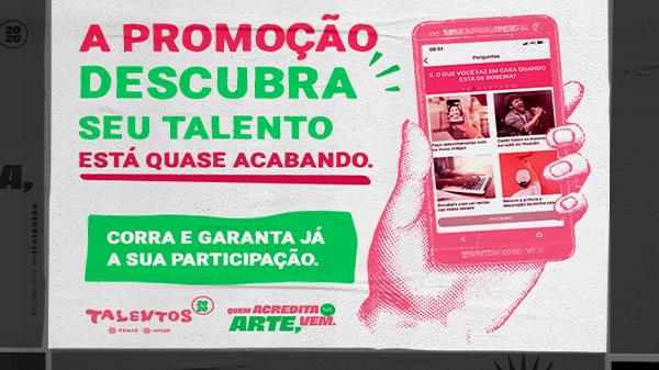"""Promoção """"Descubra seu Talento"""" tem quiz e missões no Mundo Caixa e vai até domingo"""