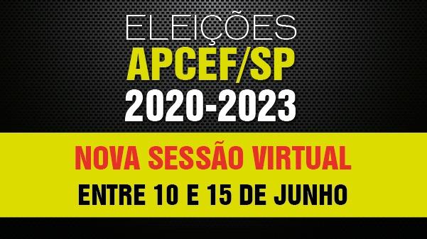 APCEF/SP realizará nova sessão virtual da eleição da entidade
