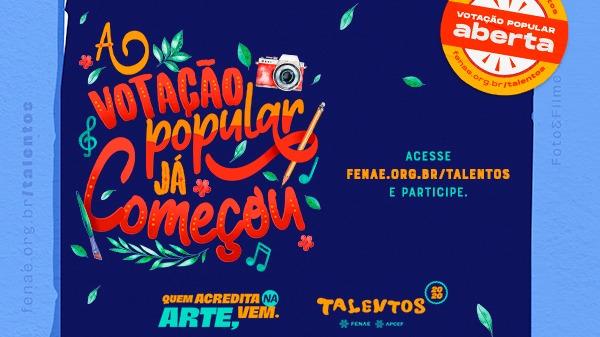 Talentos Fenae/Apcef 2020 inicia a votação popular estadual