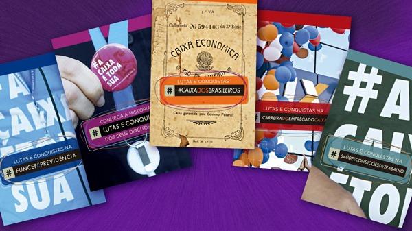 Nova cartilha mostra história de luta dos empregados da Caixa