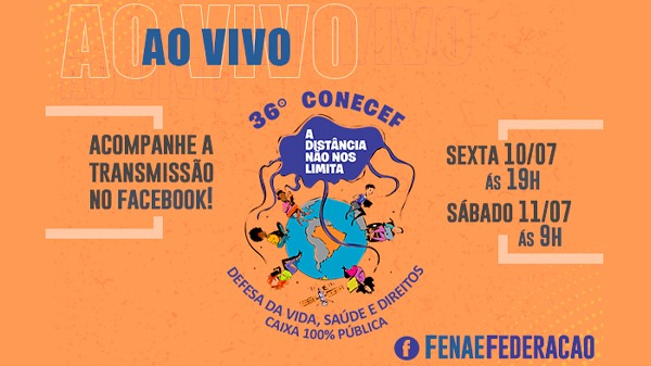 Congresso da Caixa começa nesta sexta-feira (10/7) com transmissão ao vivo