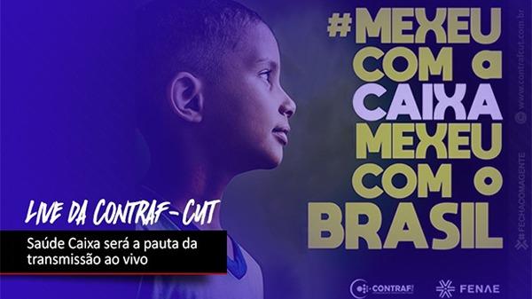 Contraf-CUT fará live sobre Saúde Caixa nesta quinta-feira (30)