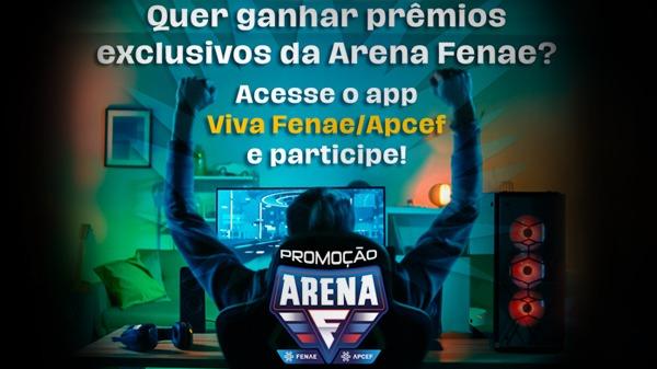 Aplicativo Viva Fenae/Apcef traz promoção Arena: baixe e responda à enquete