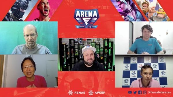 Arena Fenae premia vencedores em live e anuncia sorteios