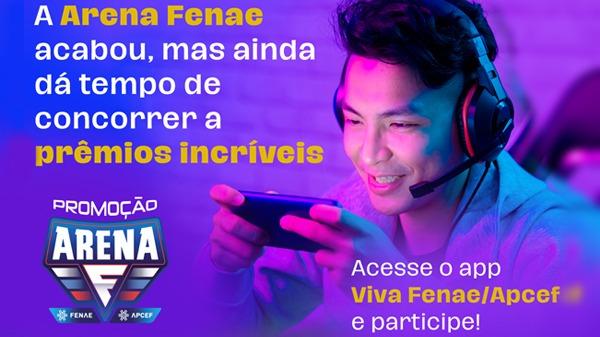 Arena Fenae: responda a enquete e concorra ao sorteio