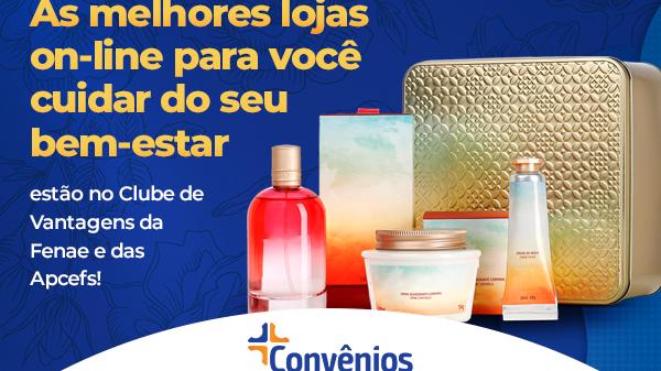 Convênios: descontos exclusivos em cosméticos e produtos de cuidados pessoais