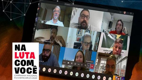 Representantes dos trabalhadores cobram proposta para Saúde Caixa, PLR e respeito à jornada