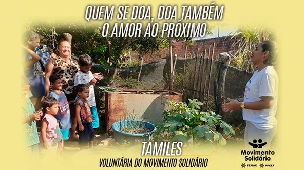 Belágua: voluntários doam seu tempo em prol das comunidades