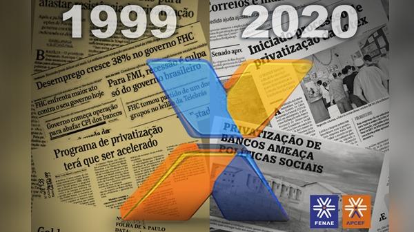 """Aloysio Biondi e o livro """"O Brasil privatizado"""", 21 anos depois"""