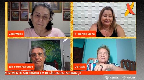 Atuação do Movimento Solidário em regiões mais pobres do País ganha destaque na live da revista Xapuri Socioambiental