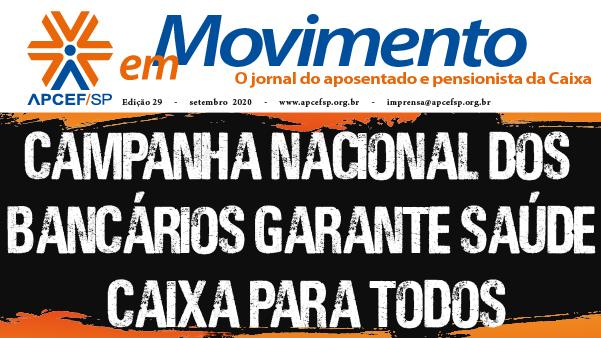 Jornal dos Aposentados do mês de setembro está na versão on-line