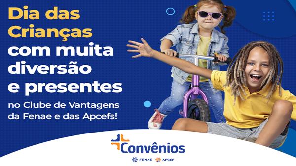 Dia das Crianças: plataforma de convênios oferece descontos para associados