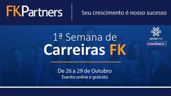 Participe da 1ª Semana de Carreiras da FK sobre carreiras no mercado financeiro