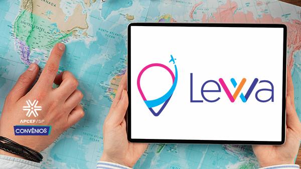 Levva Viagens é a nova parceria de viagens da Apcef/SP