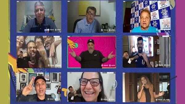 Evento virtual final da etapa estadual do Talentos Fenae/Apcef 2020 é pura emoção