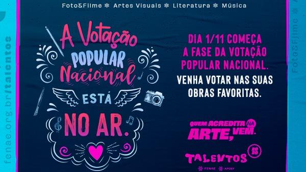 Talentos Fenae/Apcef 2020: votação popular da fase nacional começa no domingo (1º)