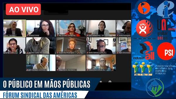 Encontro firma unidade dos trabalhadores da América Latina em defesa das empresas e serviços públicos