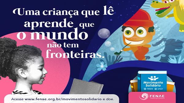 A campanha do Movimento Solidário pelo Mês das Crianças 2020 já está no ar e sua doação pode fazer toda diferença!