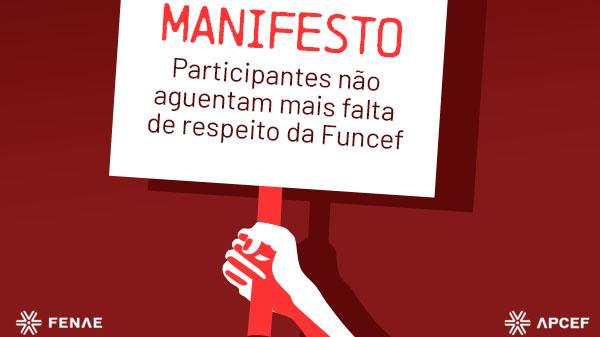 Participantes se manifestam sobre falta de respeito da Funcef