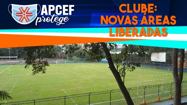 Novas áreas são liberadas para uso dos associados no clube da Apcef/SP
