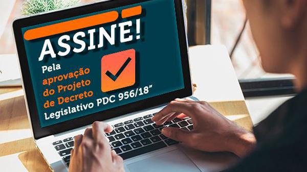 Entidades buscam 50 mil assinaturas em favor do PDC 956, que susta os efeitos da CGPAR 23
