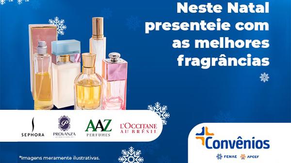 Plataforma Convênios também tem perfumaria com descontos para associados das Apcefs