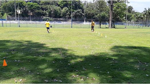 Último fim de semana de treinos no clube da capital
