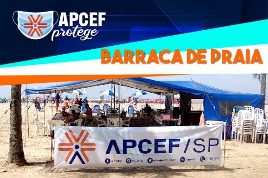Decreto municipal impede abertura da Barraca da Apcef/SP em Santos entre 15 e 17 de fevereiro