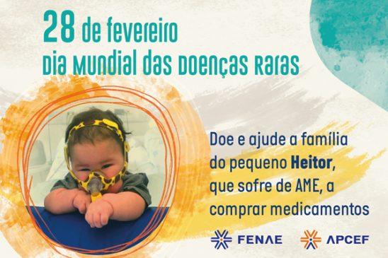 Dia Mundial das Doenças Raras: saiba mais das enfermidades que acometem o Heitor e cerca de 13 milhões de pessoas no Brasil