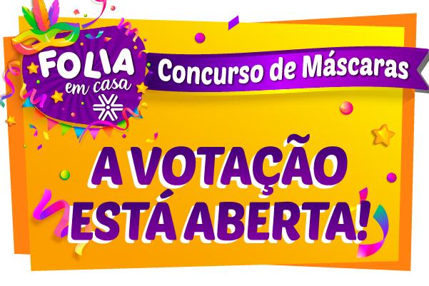 Está aberta a votação do Concurso de Máscaras Infanto Juvenil da Apcef/SP