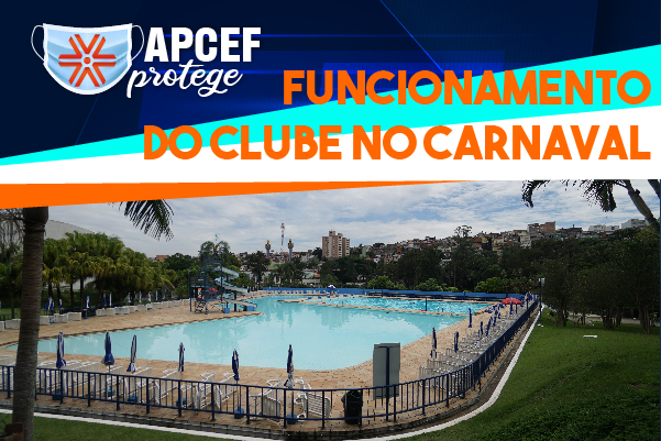 Clube da capital fica aberto de 13 a 16 de fevereiro (carnaval) e fecha dia 17