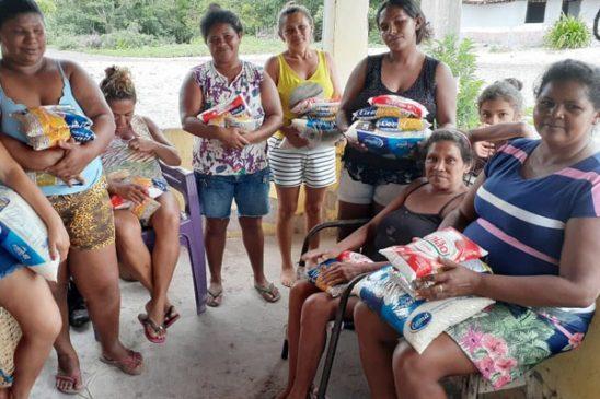 Movimento Solidário e Ação pela Cidadania entregam mais de uma tonelada de alimentos em Belágua (MA)